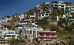 Hillside homes in Cabo San Lucas