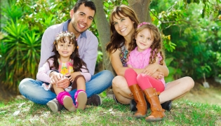Mexican Family of 4