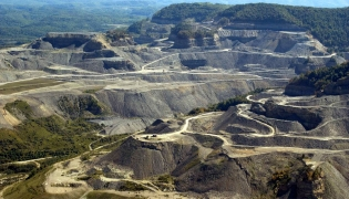 Mountaintop Removal in Letcher County, Kentucky, USA