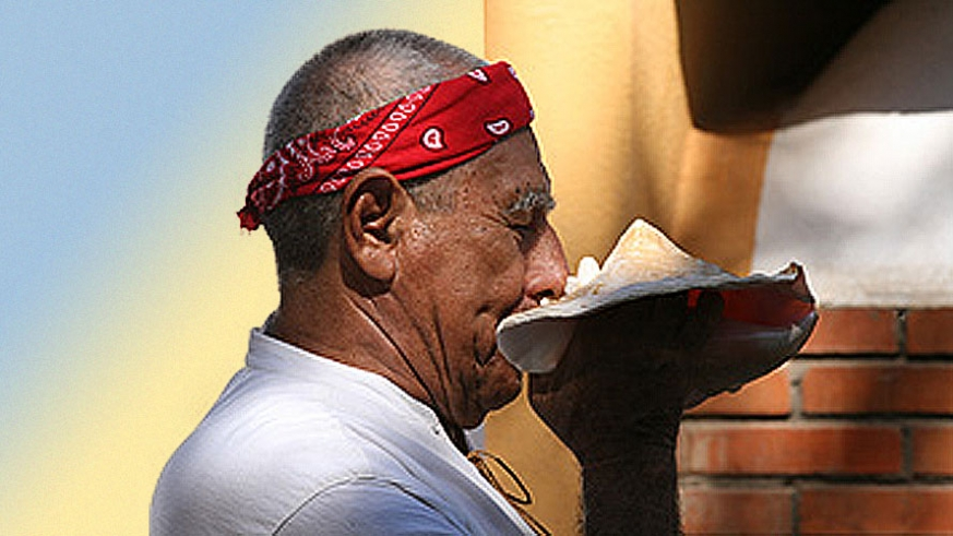 An ancient Mezo-American practice the Temazcal