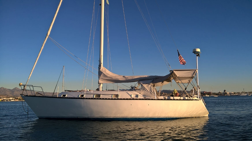 1980 Hunter Cherubini Cutter for sale cruise ready