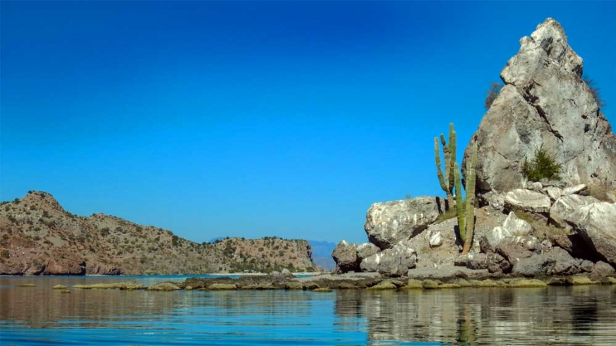 Beautiful Agua Verde offers several anchorages and cave paintings to explore ashore