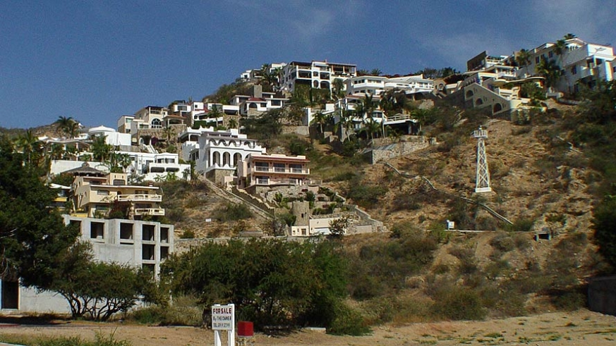 The upscale residences of the Pedregal of Cabo San Lucas