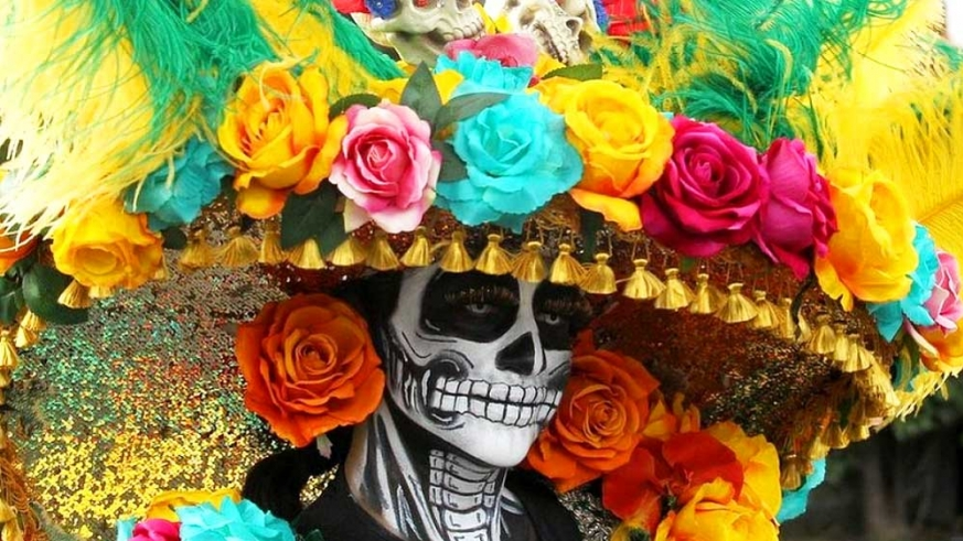 Costuming for Catrina, the Fancy Lady or better known as death itself.