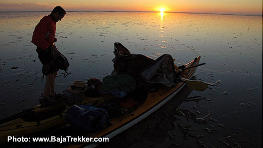 Early morning preparations for a day of Kayaking the Colorado River Delta