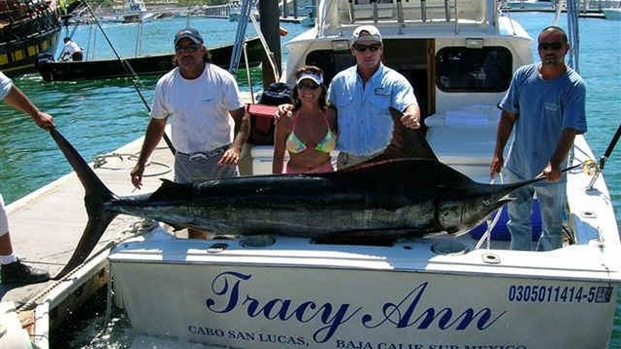 Sport fishing on the Sea of Cortez