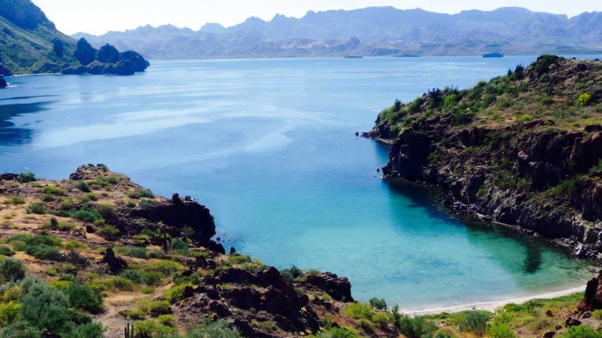 Honeymoon cove is a quick boat trip and a world away from the hustle and bustle