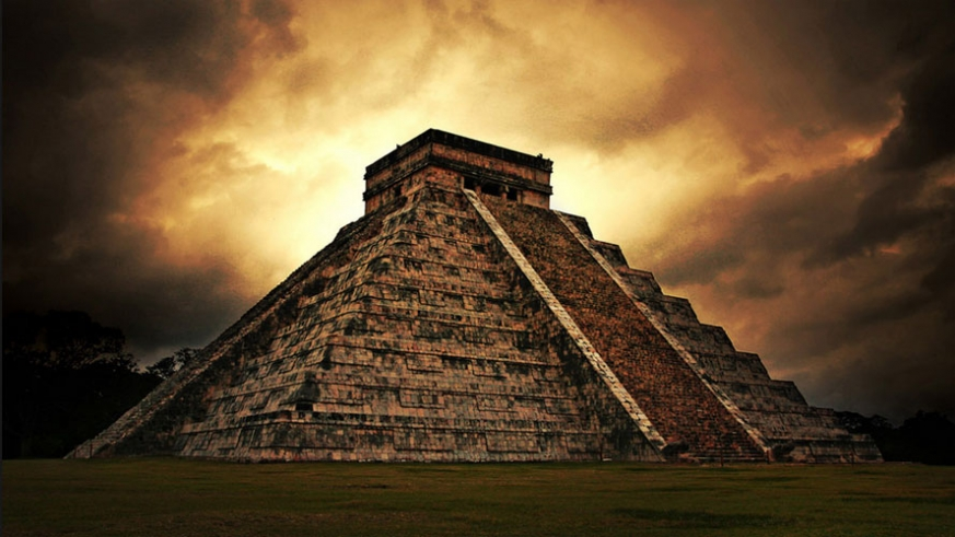 A Mayan temple or a real estate observation deck?