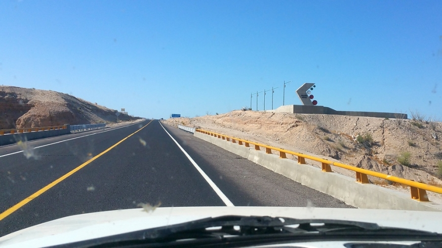 Mex 5 Highway newest section