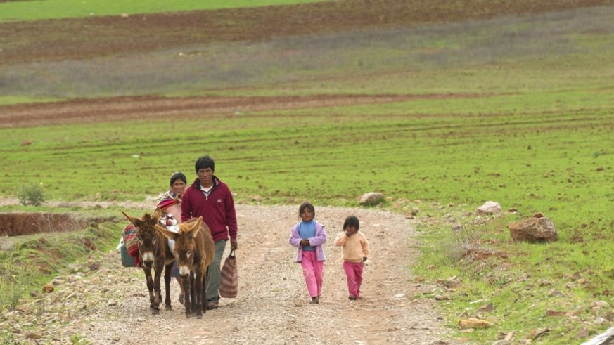 Rural Mexican Family