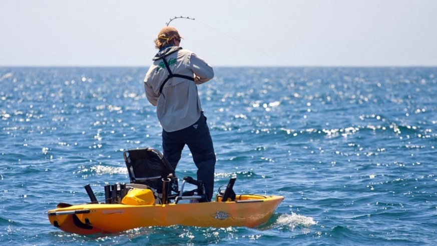 These kayaks are stable enough to fish standing up