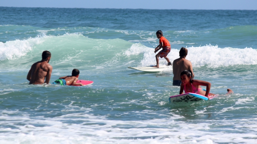 Surfing a Family Sport