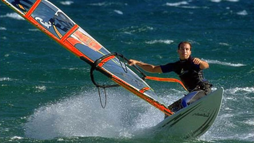 Windsurfers and kiter have found a home in La Ventana in mid winter