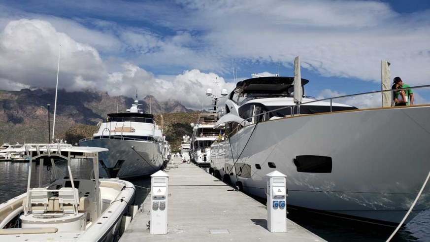 With more than 100 slips Marina Escondido just south of Loreto looks forward to welcoming you.